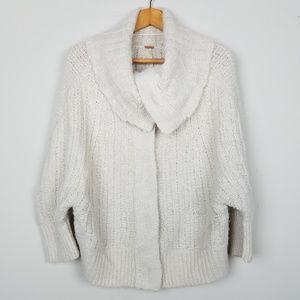 Free People Cozy Knit Batwing Cardigan A0207